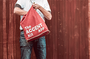 the accent kit app